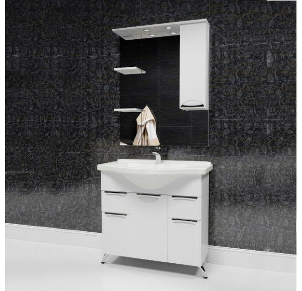 Камилла 80 зеркало-шкаф 80*100 левый