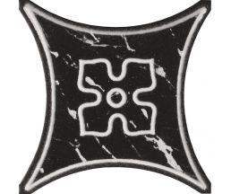 Texas 2 BK  черный декор 10*10