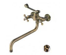 НВ19-4 Смеситель для ванны длинный HB2619-4