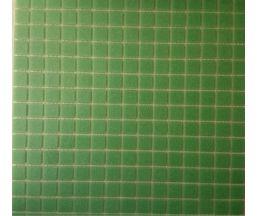 F42  мозаика на сетке 327*327*4 зеленый моноколор