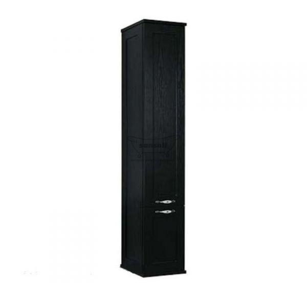 Леон шкаф-колонна подвесная черная 1A186503LBPT0