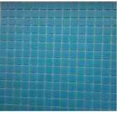 F53  мозаика на сетке 327*327*4 голубой моноколор