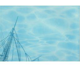 Лазурь панно Корабль-2  25*35