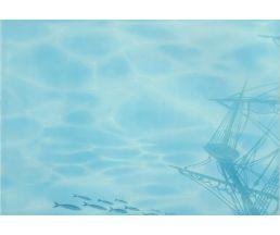 Лазурь панно Корабль-3  25*35