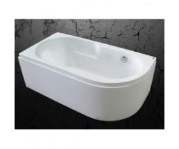 Ванна акриловая 170*80 белая Абрау MIRSANT левая