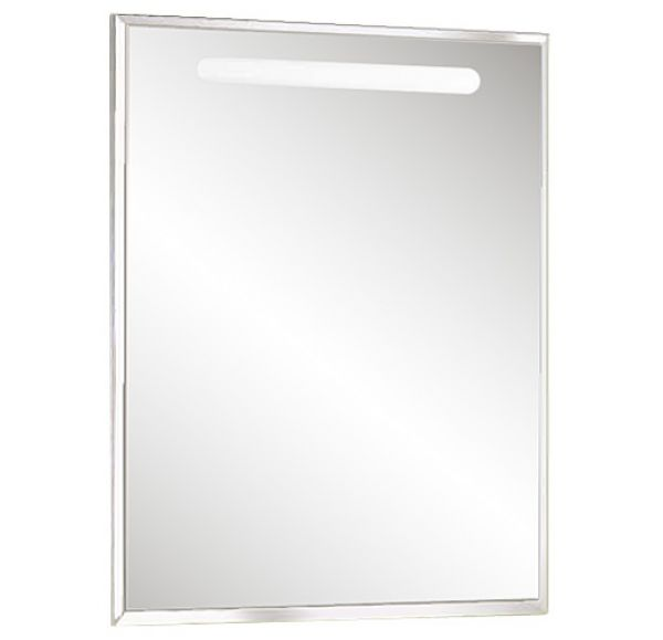 Оптима 65 зеркало белый глянец