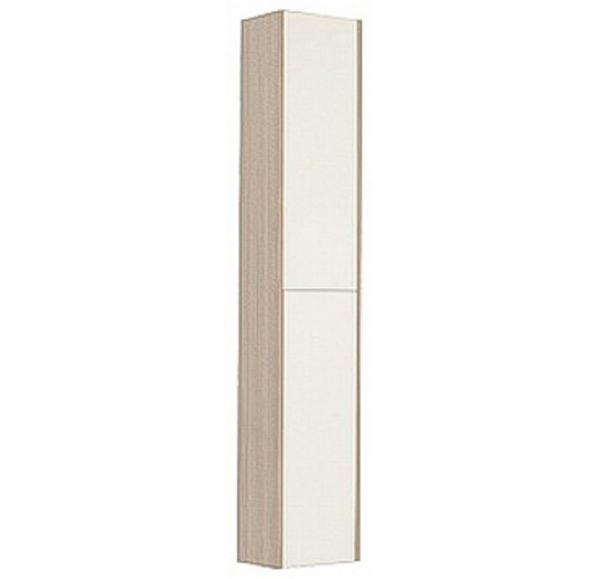 Йорк шкаф-колонна 1A171203YOAV0 белый/ясень фабрик