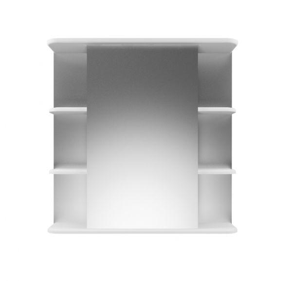 Глория 70/2 зеркало-шкаф 70*70 левый