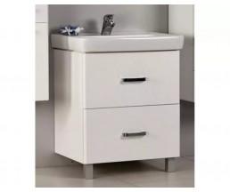 Америна 60 белый комплект мебели для ванной комнаты Full