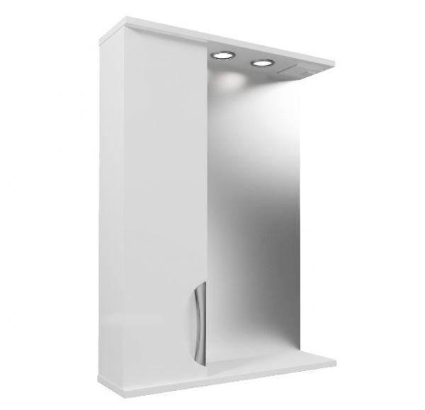 Камилла 60/2 зеркало-шкаф 60*82 левый