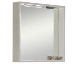 Фабиа 80 зеркало-шкаф 1A166902FBAY0 белый/ выбеленное дерево