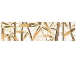 Ретро Бордюр бамбук коричневый 6,5*25