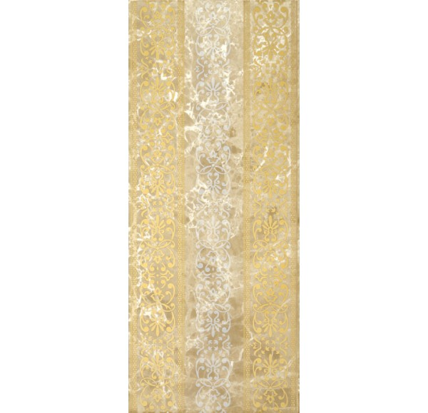 Bohemia beige decor 01 25*60