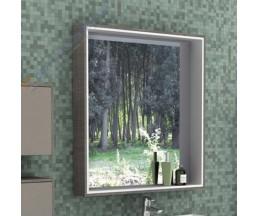 Фабиа 80 зеркало-шкаф 1A166902FBPH0 латте