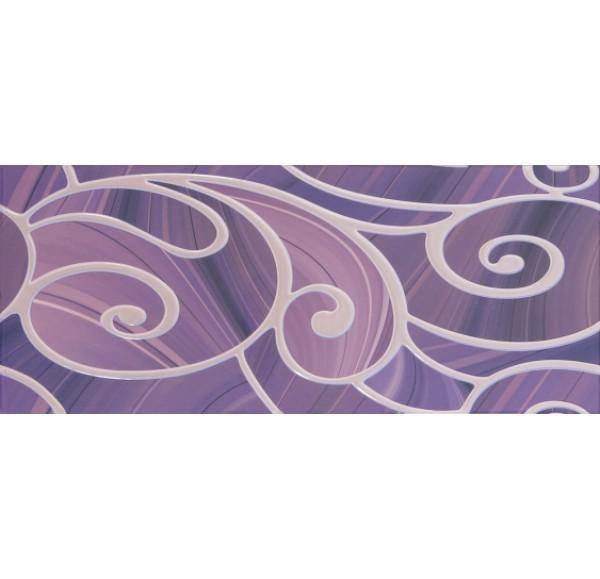 Arabeski purple decor 01 25*60